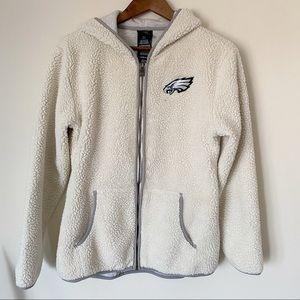 Philadelphia Sherpa zip hoodie